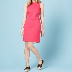 Boden Coral Chino Tunic Dress